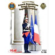 Капрал кавалерийского полка Республиканской гвардии Франции масштаб 1:16 ICM16007, фото 1