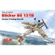 Bucker Bu 131B, Германский учебный самолет масштаб 1:32 ICM32031, фото 1