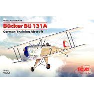 Bucker Bu 131A, Германский учебный самолет масштаб 1:32 ICM32033, фото 1