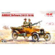 Водители АНЗАК 1917-18г. масштаб 1:35 ICM35707, фото 1