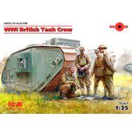 Британский танковый экипаж І МВ масштаб 1:35 ICM35708, фото 1