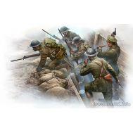 Британская пехота перед атакой 1МВ масштаб 1:35 MB35114, фото 1