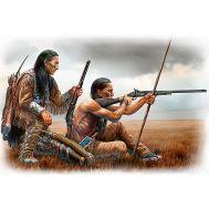 Серия индейских войн. Дальний выстрел. масштаб 1:35 MB35128, фото 1