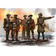 Британская пехота, Битва на Сомме 1916г масштаб 1:35 MB35146, фото 1