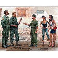 Где-то в Сайгоне. Серия войны во Вьетнаме масштаб 1:35 MB35185, фото 1