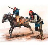 Серия индейских войн, набор № 1. Апачи. Атака. масштаб 1:35 MB35188, фото 1