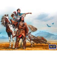 Серия индейских войн. На Великих равнинах. масштаб 1:35 MB35189, фото 1
