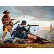 Серия индейских войн. Последняя позиция. масштаб 1:35 MB35191, фото 1