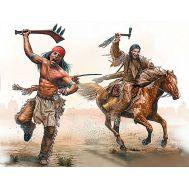 Серия индейских войн, набор № 2. Атака с томагавками. масштаб 1:35 MB35192, фото 1