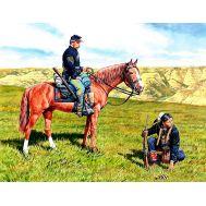 Гражданская война в США Yankee Scout and Tracker масштаб 1:35 MB3549, фото 1