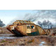 Британский танк MK I Самец, период Битвы на Сомме, 1916г масштаб 1:72 MB72001, фото 1