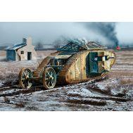 Британский танк MK I Самка, период Битвы на Сомме, 1916г масштаб 1:72 MB72002, фото 1