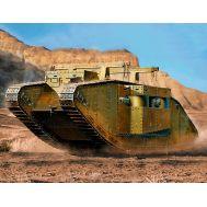Британский танк MK I Самка, специальная модификация масштаб 1:72 MB72004, фото 1