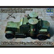Британский бронированный автомобиль, Остин, MK IV, 1МВ масштаб 1:72 MB72008, фото 1