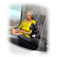 Дальнобойщики. Джони (Lookout) Джонсон и ее пес Макс масштаб 1:24 MB24045, фото 1
