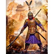 Первый император Китайской империи Мин Чжу Юаньчжан. Битва за Нанкин, 1356г. масштаб 1:24 MB24059, фото 1