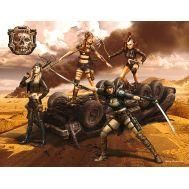 Битвы в пустыне, Клан Черепа - Ангелы Смерти масштаб 1:35 MB35122, фото 1