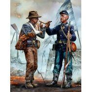 Гражданская война США. Воссоединение - встреча братьев масштаб 1:35 MB35198, фото 1