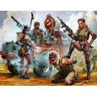 Битва в пустыне. Клан Черепа - новые амазонки масштаб 1:35 MB35199, фото 1