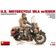 Американский мотоциклист масштаб 1:35 MiA35172, фото 1