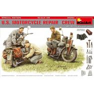 Американские мотоциклисты за ремонтом масштаб 1:35 MiA35284, фото 1