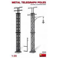 Металлические телеграфные столбы масштаб 1:35 MiA35529, фото 1