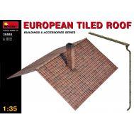 Европейская черепичная крыша масштаб 1:35 MiA35555, фото 1