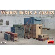 Набор деревянных ящиков масштаб 1:35 MiA35581, фото 1