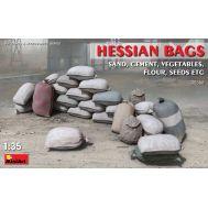 Набор мешков (песок, цемент, овощи, семена и т.д.) масштаб 1:35 MiA35586, фото 1