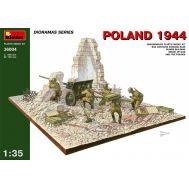Диорама. Польша 1944. Советская артиллерия. масштаб 1:35 MiA36004, фото 1
