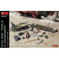 Железнодорожные инструменты и оборудование масштаб 1:35 MiA35572, фото 1