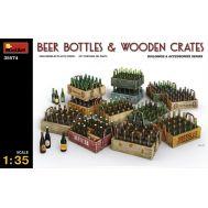 Пивные бутылки с ящиками масштаб 1:35 MiA35574, фото 1