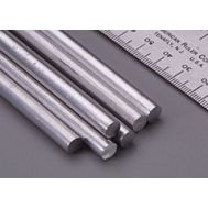Пруток алюминиевый круглый 9,5 мм, 1 шт KS83047, фото 1