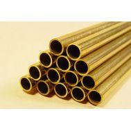 Ассортимент гибких латунных трубок 2,3 мм, 3,2 мм, 4 мм, 3 шт KS5075, фото 1