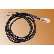 Лампочка 3 В на проводе, белая MS0110, фото 1