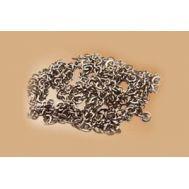 Цепь 8 звеньев/см, полированная сталь, длина 30 см MS0529, фото 1