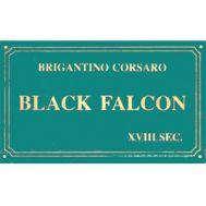 Табличка 87х50 мм BLACK FALCON SYT43692, фото 1