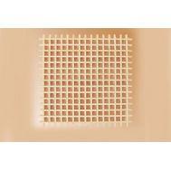 Собранная решетка, липа, 32х32х1 мм MS0361, фото 1