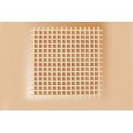 Собранная решетка, липа, 36х36х1,5 мм MS0363, фото 1