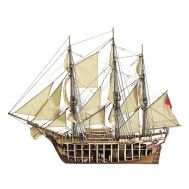 HMS BOUNTY с разрезом масштаб 1:48 AL22810-рус, фото 1