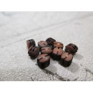 Блок, двушкивный, груша, 2,5 мм, 10 шт AOB1008, фото 1