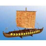 VIKING SHIP GOKSTAD, (мелкий) IX век масштаб 1:72 DSK002, фото 1