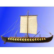 VIKING SHIP GOKSTAD, IX век масштаб 1:35 DSK006, фото 1