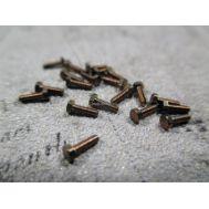 Болт, латунь, М1,2x4, 10шт RB112-04, фото 1