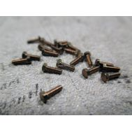 Болт, латунь, М1,2x8, 10шт RB112-08, фото 1