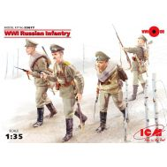 Пехота Российской императорской армии 1МВ масштаб 1:35 ICM35677, фото 1