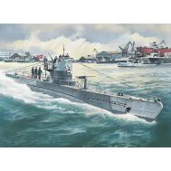 U-Boat Type IIB 1943г. масштаб 1:144 ICMS010, фото 1