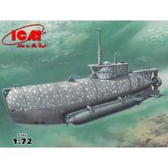 U-Boat Type XXVIIB Seehund (early) 2МВ масштаб 1:72 ICMS006, фото 1