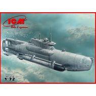 U-Boat Type XXVIIB Seehund (late) 2МВ масштаб 1:72 ICMS007, фото 1
