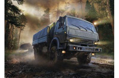 КАМАЗ-5350 Мустанг масштаб 1:35 ZV3697, фото 11